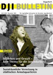 DJI Bulletin 56/57 - Deutsches Jugendinstitut e.V.
