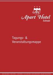 Tagungs- & Veranstaltungsmappe - Apart Hotel Sehnde