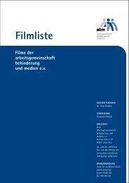 Download - arbeitsgemeinschaft behinderung und medien eV