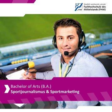 Sportjournalismus & Sportmarketing - Fachhochschule des ...