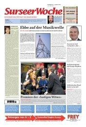 Ausgabe Surseer Woche 8. Januar 2009 - Neu auf www ...