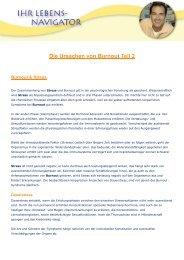 Die Ursachen von Burnout Teil 2 PDF - Klaus Ruhland