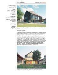 Hochparterre 9/2008 - BDE Architekten GmbH