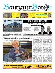 09.Februar 2013 - BautzenerBote.de