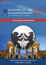 In Kooperation mit Österreich und Schweiz - Deutscher Luft- und ...
