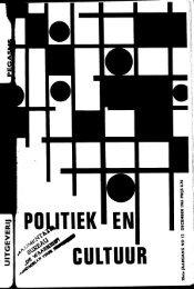 nr. 12 december - Publicaties Nederlandse Politieke Partijen