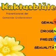 SexualitAt Gewalt Drogen Freizeit - Kaktusblüte - Präventionsrat der ...