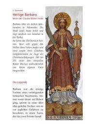 Barbara lebte im dritten Jahr- hundert in ... - Bonner Münster