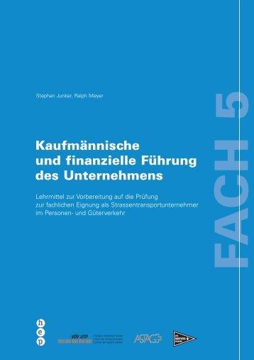 Lehrmittel Fach 5 - routiers.ch