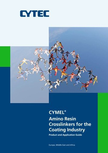CYMEL® Amino Resin Crosslinkers for the Coating Industry - Allnex