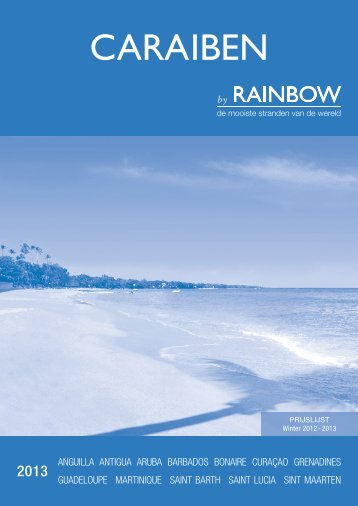 Download onze prijsbijlage - Rainbow