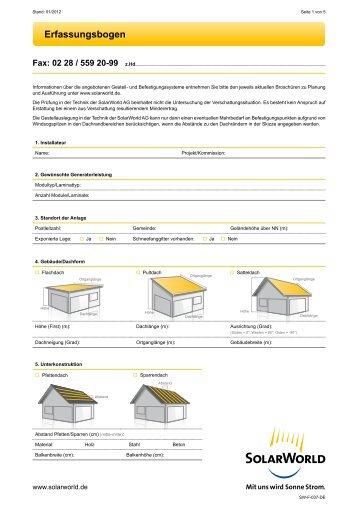PDF-Datei Erfassungsbogen 01-2012 - Eisen-Fischer GmbH
