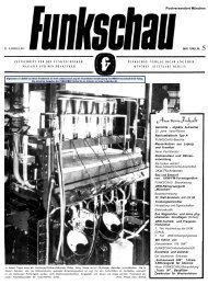 Funkschau 21. Jahrgang 1949 - Heft 5 | Teil 1 von 10 - Radiomuseum.org