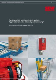 Frequenzumrichter MOVITRAC® B - SEW Eurodrive