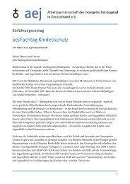 Einführung ins Thema - Arbeitsgemeinschaft der Evangelischen ...