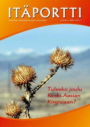 Tuleeko joulu Keski Aasian Kirgisiaan? - IRR-TV