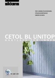 CETOL BL UNITOP - Sikkens Shop
