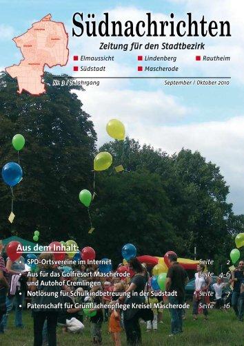 Südnachrichten - Klaus-Peter Bachmann