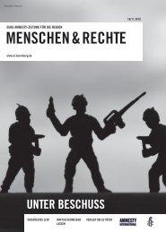 Ausgabe Oktober / November 2010 - Amnesty Erlangen
