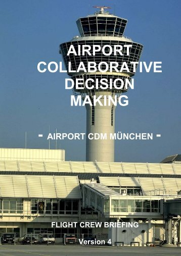 airport collaborative decision making - Flughafen München