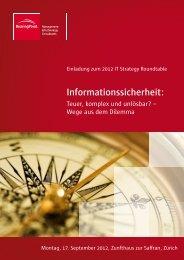 Informationssicherheit: - BearingPoint