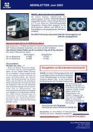 NEWSLETTER Juni 2003 - Alcoa