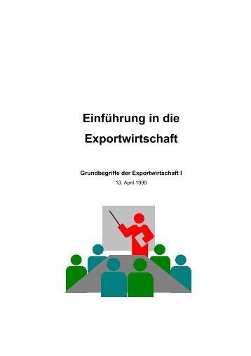 Einführung in die Exportwirtschaft - Jürgen Bellers