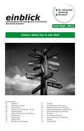 1302.pdf - Evangelisch-reformierte Gemeinde Ronsdorf - Ev ...