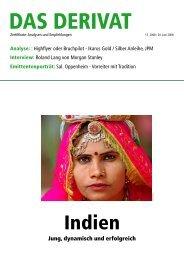 Indien - Das Investment