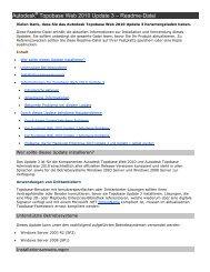 Autodesk Topobase Web 2010 Update 3 – Readme-Datei