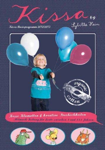 Kissa Basisprogramm 2012/2013 - Kissa Kinderwelten