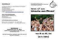 Komm mit zum Kirchentag nach Dresden! - Pleinfeld-evangelisch.de