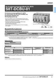 S8T-DCBU-01 Datenblatt