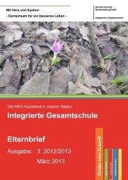 Elternbrief 3/2013 - AWO Rudolstadt