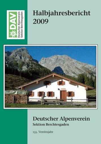 2009 - Deutsche Alpenvereinssektion Berchtesgaden