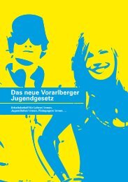 Das neue Vorarlberger Jugendgesetz