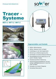 Tracer - Systeme