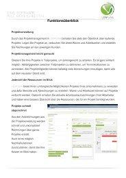 Funktionsüberblick - KMU-Plattform GmbH