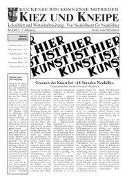 Juni - Kiez und Kneipe Neukölln