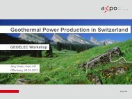 Switzerland - Geoelec