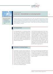 Wirtschaftlichkeit von Contracting-Projekten - Bremer Energie ...