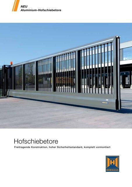 Hofschiebetore - Hörmann KG