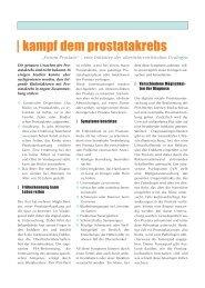 Kampf dem Prostatakrebs - gesund-in-ooe.at