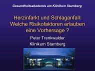 Schlaganfall - Hypertonie Starnberg Prof. Trenkwalder