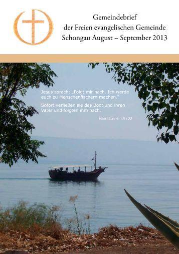 September 2013 - FeG Schongau