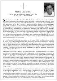 Abt Otto Lohner OSB - Erzabtei St. Ottilien