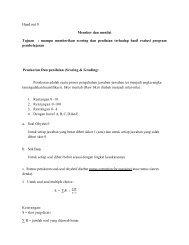 Hand out 9 Menskor dan menilai Tujuan : mampu ... - File UPI
