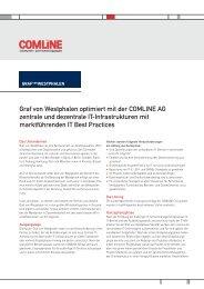 erfahren - Comline AG