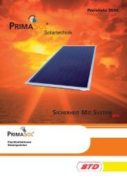 Supramat® Solartechnik