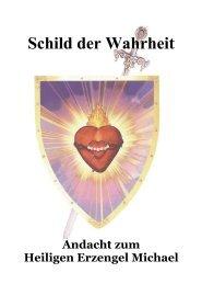 Schild der Wahrheit - Holy Love Ministry